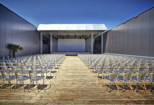 event hall large T3C1566 Print